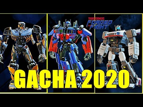 TRANSFORMERS: FORGED TO FIGHT - GACHA 2020 (Transformers: Pejuang)