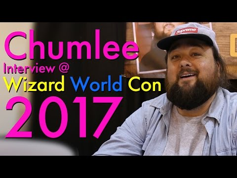 Chumlee Interview at Wizard World Con 2017 [4K]