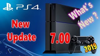 PS4 7.00 Update With A Few New Awesome Features 2019