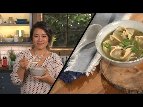 Easy Wonton Soup l Seonkyoung Longest
