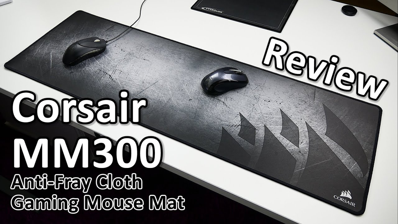 c021ae75894 Corsair MM300 Anti-Fray Cloth Gaming Mouse Mat Review - YouTube