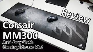 Corsair MM300 Anti-Fray Cloth Gaming Mouse Mat Review