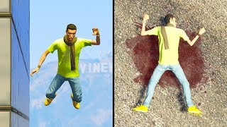 How High Can You Fall And Survive in GTA 5 Online?