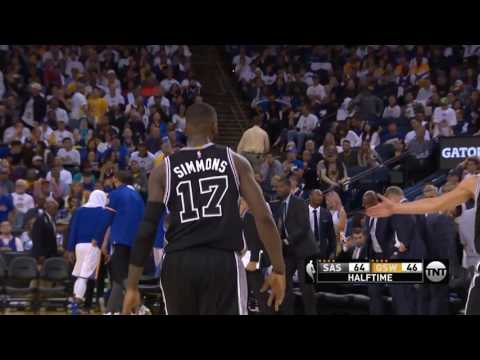 San Antonio Spurs vs Golden State Warriors - October 25, 2016