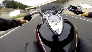 A quick blast on the Triumph Thunderbird LT
