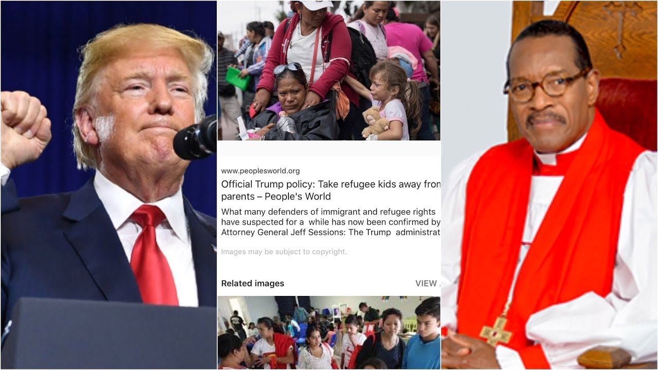 COGIC Bishop Charles Blake stands against Donald Trump | Mexican Children in camps in Texas
