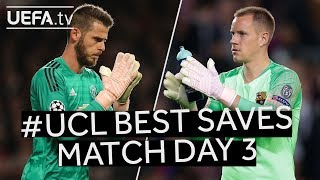 #UCL BEST SAVES: Match Day 3