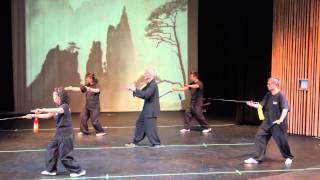 2015 Soaring Eagle Kung Fu Recital - 24式太极剑