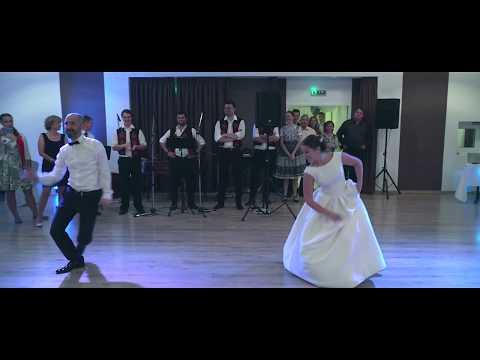 Svadba Betka a Samo - Tanec nevesty s otcom
