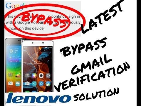 Bypass Lenovo Google account verification Latest 2017