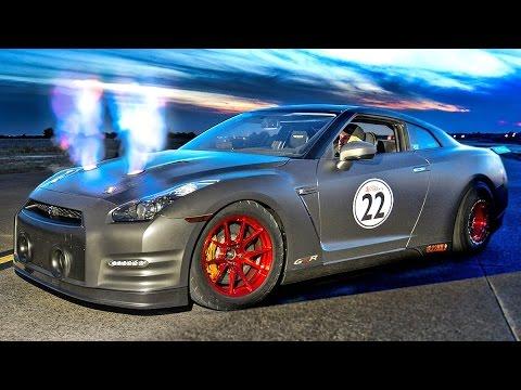 FIRE Breathing 2100hp Nissan GT-R!