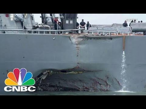 Collision Of USS John S. McCain Is Met With 'Applause' In China, According To State Media | CNBC