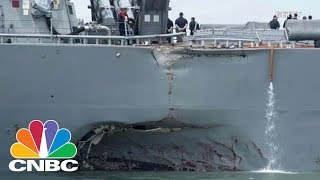 Collision Of USS John S. McCain Is Met With