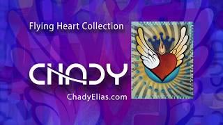 Chady Elias   Visual Artist   Flying Heart   Royal   Fine Art   Painting   CHADY Art