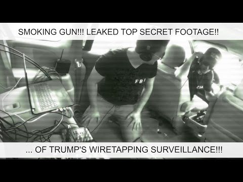 SMOKING GUN!!! FBI/CIA Joint Surveillance of Trump