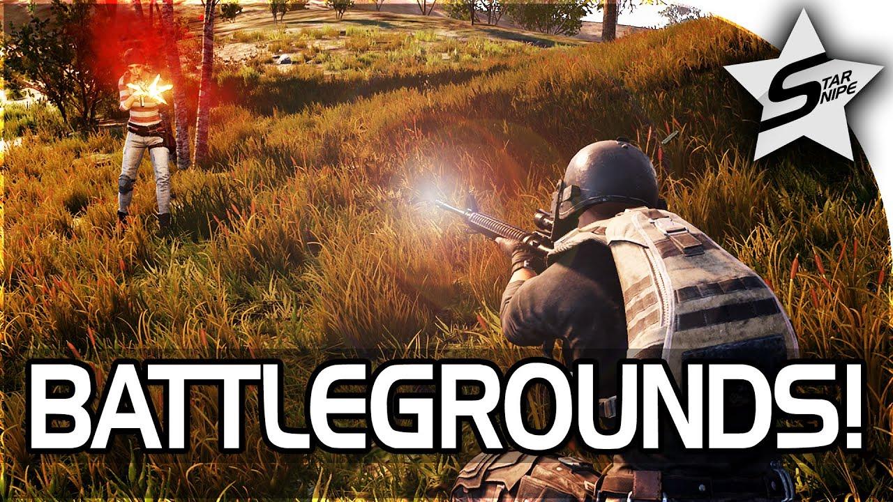 Playerunknown S Battlegrounds Game Drop In: PLAYERUNKNOWN'S Battlegrounds Gameplay