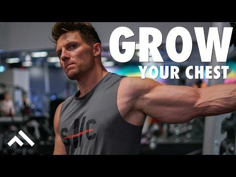 BEST Upper Chest Workout Using Eccentric Training