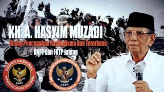 KH. Ahmad Hasyim Muzadi : Dialog Pencegahan Radikalisme Dan Terorisme