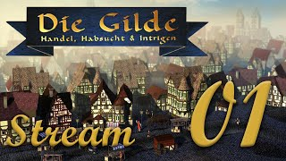 Let's Play Die Gilde Gold Edition, Stream Session 1