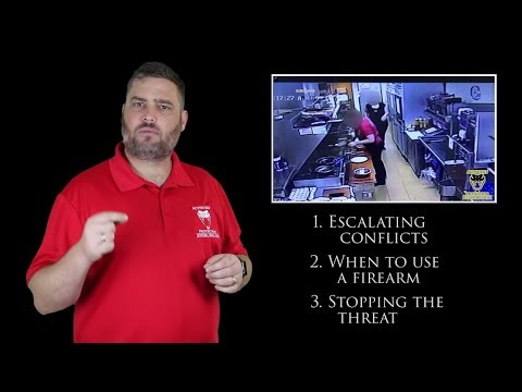 Watch How Fast a Defensive Firearm Stops an Assault   Active Self Protection