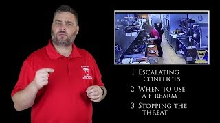 Watch How Fast a Defensive Firearm Stops an Assault | Active Self Protection