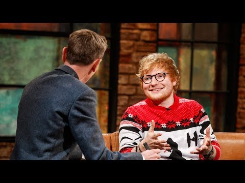 """I Definitely Do Some Weird Things"" - Ed Sheeran 