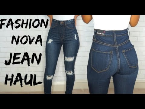 FASHION NOVA JEANS TRY ON!