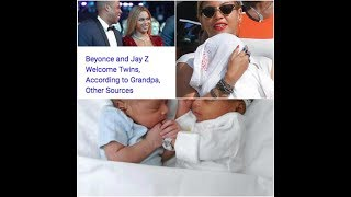 Beyoncé and Jay Z welcome twin babies, a boy and a girl! FIRST PHOTOS!