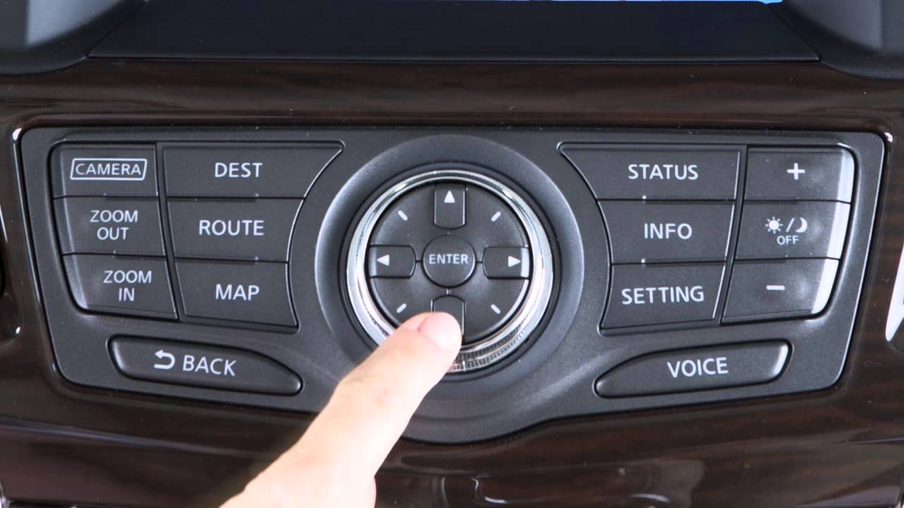 2015 Nissan Pathfinder Navigation System Overview If So