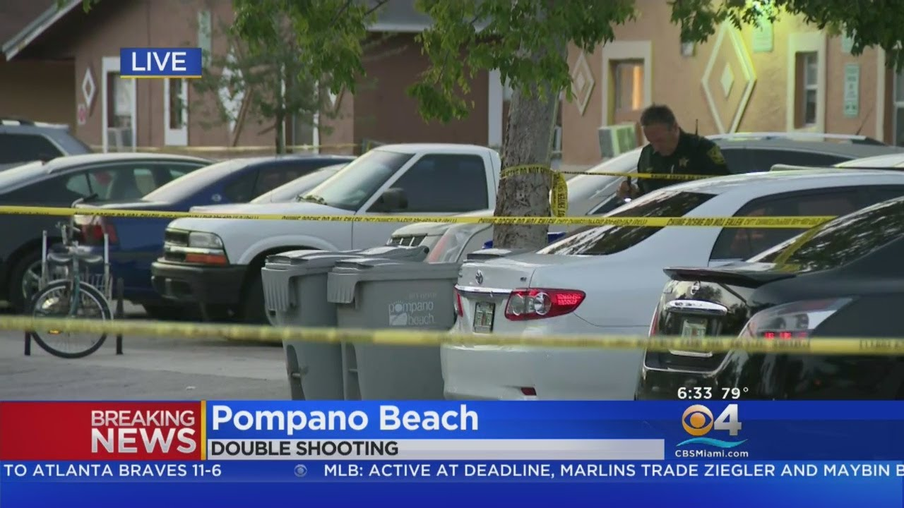 Woman Killed In Deadly Pompano Beach Double Shooting