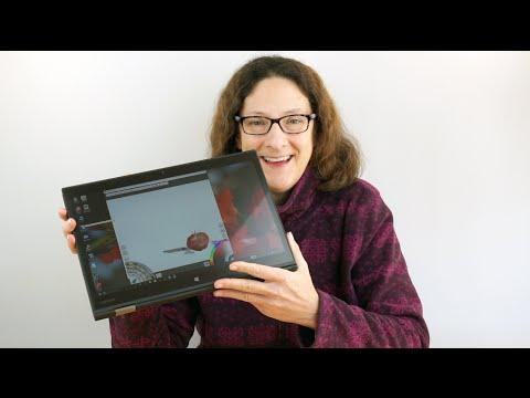 Lenovo ThinkPad X1 Yoga Wacom AES Pen Demo