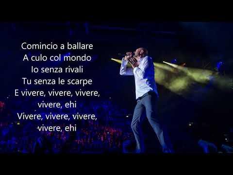 Biagio Antonacci - Per Farti Felice - Testo / Karaoke Album Chiaramente visibili dallo spazio