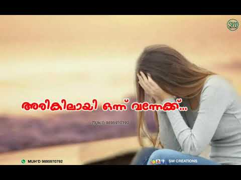 Whatsapp Status Romantic Love Sad Malayalam Female Version Song