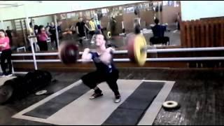 David Clean 155 kg