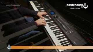 roland rd 800   sound demo   digital piano