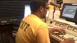 "Bayje in Pittsburgh on Kiss 96.1 FM playing ""Find A Way"""