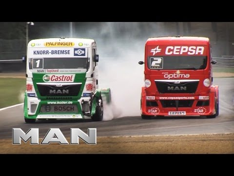 MAN - Truck Race Zolder - big crash - 21.09.2013