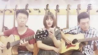Cover: Đếm ngày xa em ( Guitarist Huỳnh Đinh Quang Minh fit Rio Sun fit Guitar Sao Mai
