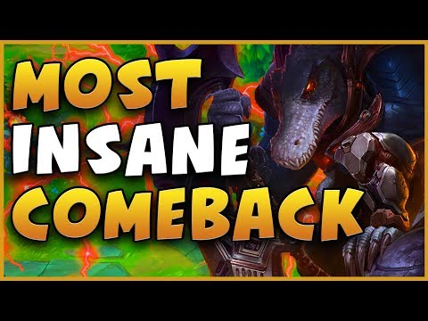 BEST RENEKTON MAKES THE MOST INSANE COMEBACK EVER - League of Legends (Season 9) thumbnail