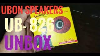 UBON UB-826 UNBOX review technology budget speakers