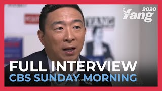 Andrew Yang on CBS Sunday Morning
