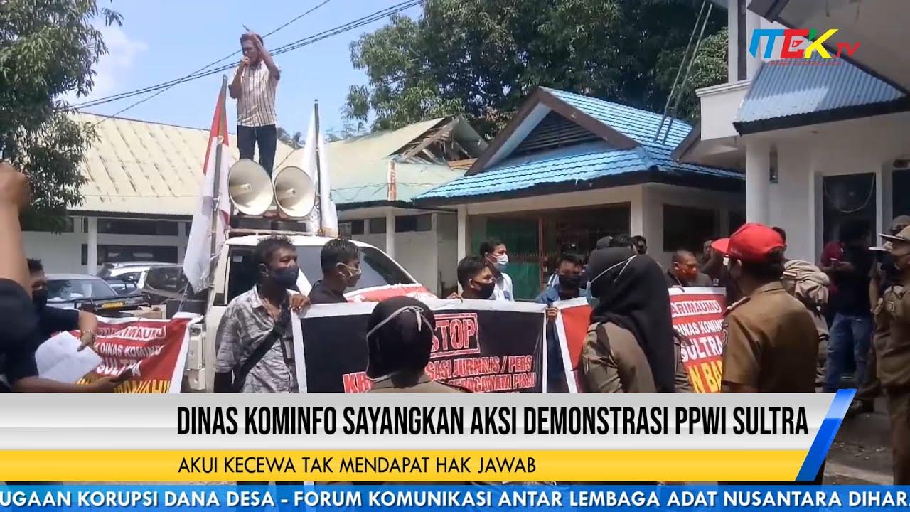 Dinas Kominfo Sayangkan Aksi Demonstrasi PPWI Sultra