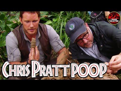 Jurassic World | CHRIS PRATT POOP ON YOUR NECK | Behind the Scenes