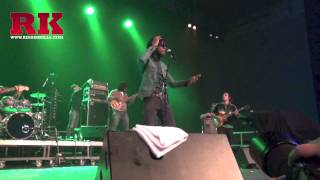 Chronixx - Start a Fyah & Dread _ First time Live in Paris Reggae Festival 2013 (Extrait)