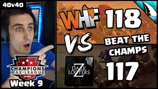 CWL Season 5 Invite: WHF vs Dark Looters Z Recap | Week #9 | Clash of Clans