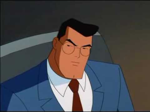 Clark Kent reveals his secret identity