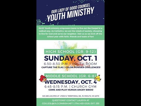 OLGC Youth Ministry