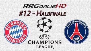 PES 2014 Champions League #12 | HF Rückspiel | FC Bayern München vs Paris Saint-Germain | RRGoalieHD