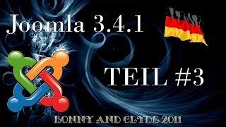 Joomla 3.4.1 - #3 Deutsche Sprachdatei hochladen und installieren [HD]
