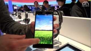 Sony Xperia Z - Hands-On - CES 2013 - androidnext.de